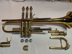 how to clean trumpets